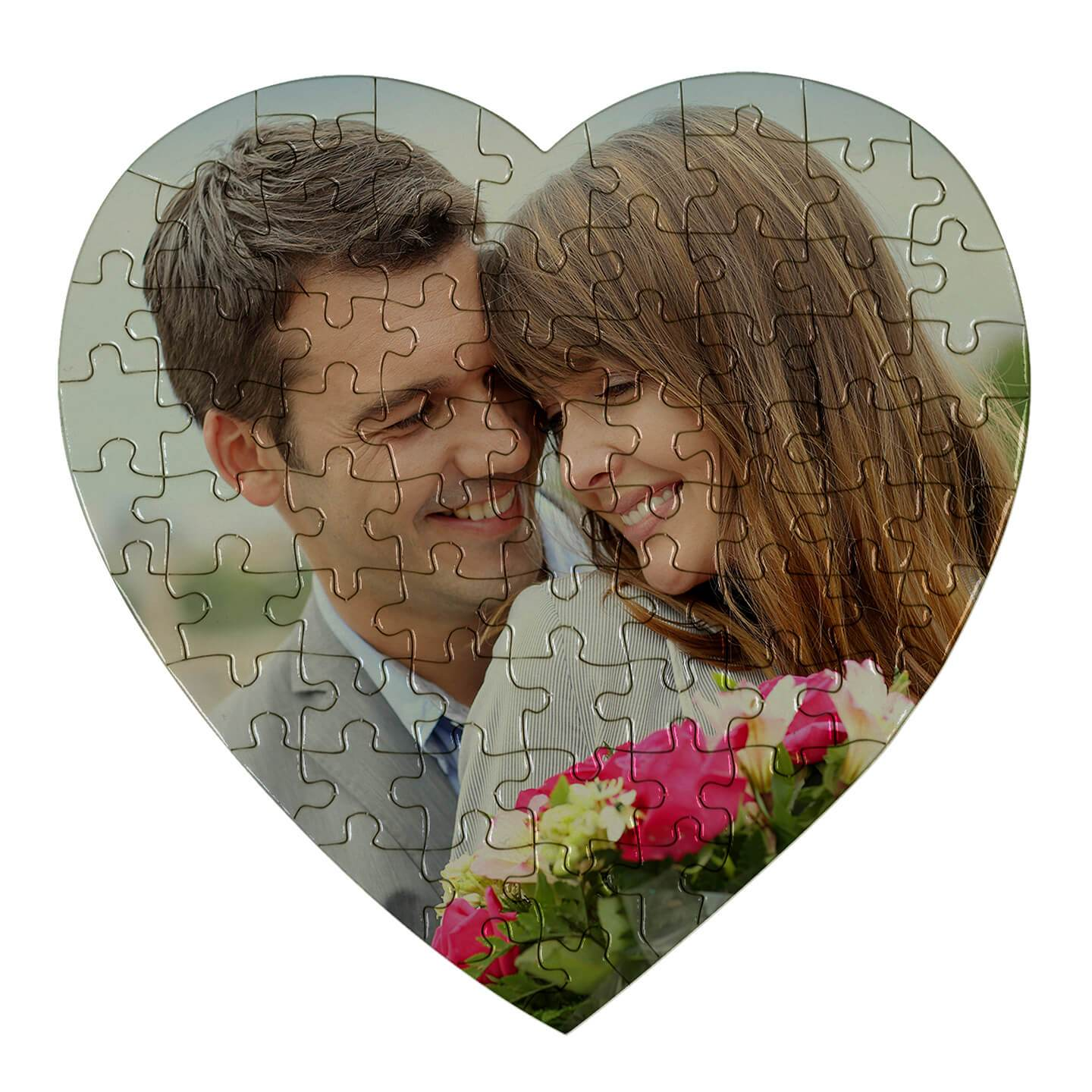 PUZZLE SUBLIMATION HEART JIGSAW