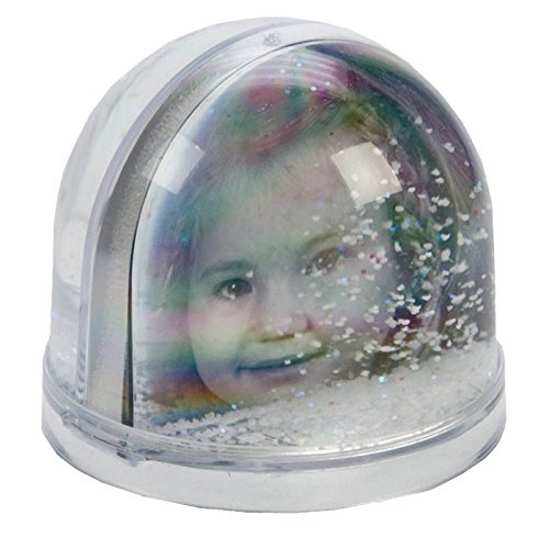 SNOW GLOBE WITH CUSTOM PHOTO